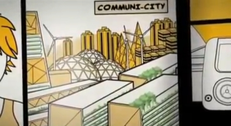 Megacities on the Move, Communi-City