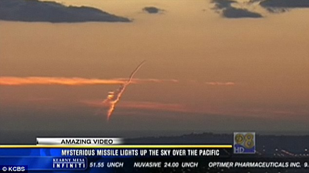 Mysterious Missile over Southern California 2