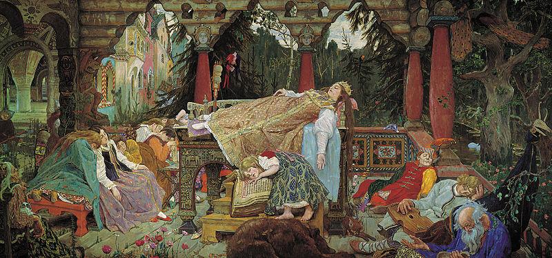 Victor Vasnetsov, The Sleeping Beauty 2