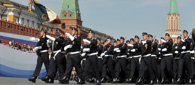Victory Day Parade 2010, French