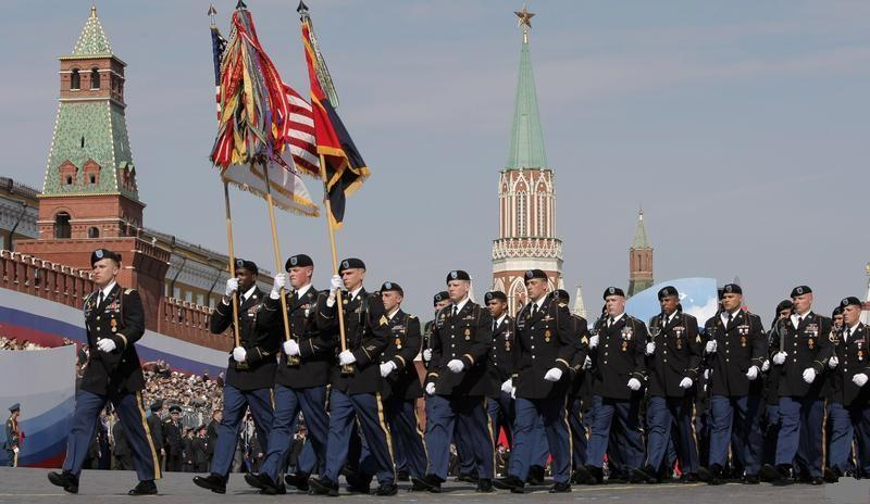 Victory Day Parade, 2010, U.S. troops, 3