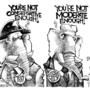 conservative cartoon, 90, 90