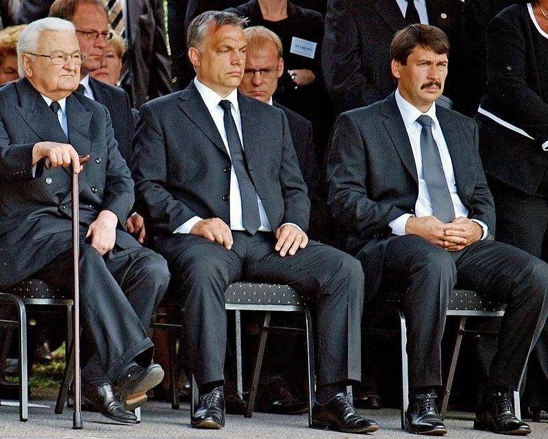 Boross, Orbán, Áder