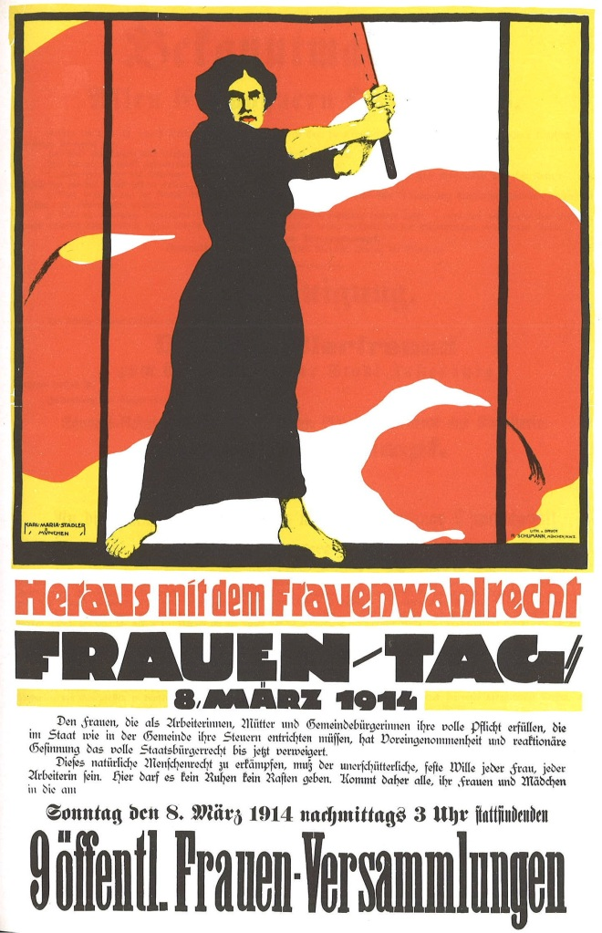 Frauentag Poster